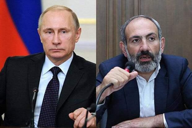 В ближайшее время может состоятся встреча Путина и Пашиняна
