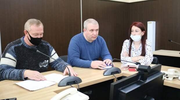 Состоялось рабочее совещание со специалистами по социальной работе