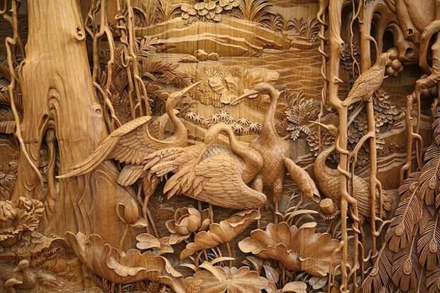 Dongyang — китайская резьба по дереву