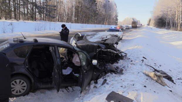 Один человек погиб в аварии на дороге «Ижевск-Воткинск»