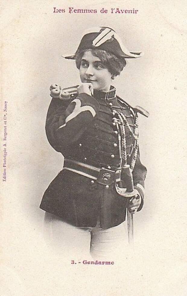 Женщина-жандарм