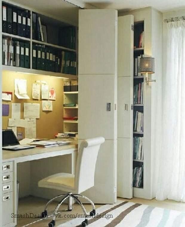 Офис в шкафу (варианты)