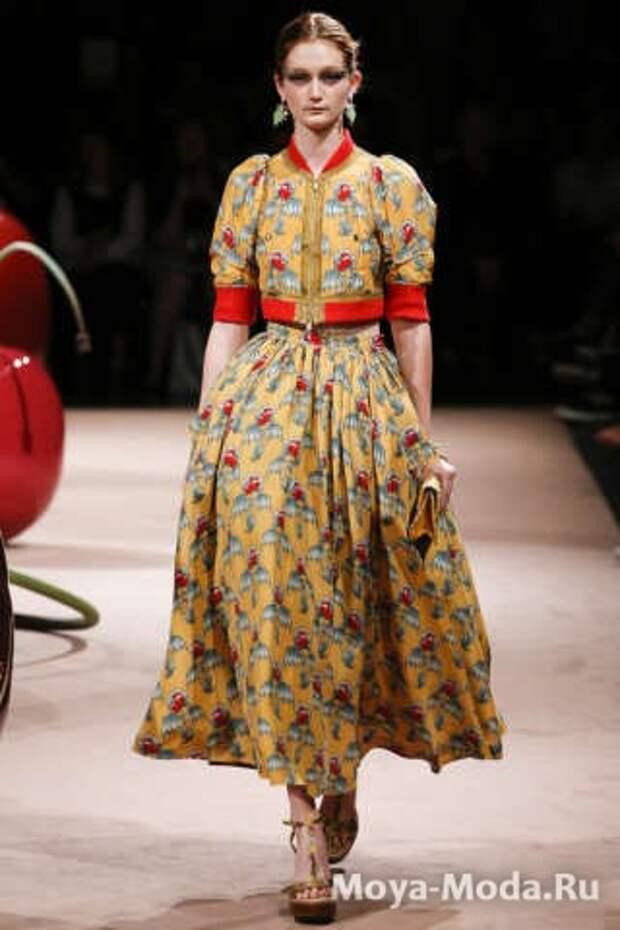 Модные юбки весна-лето 2015 Undercover