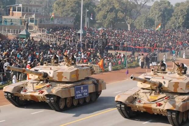 Самой редкой модификации Т-72 нашли применение в Индии