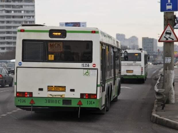 Столичные автобусы будут «ловить» нарушителей ПДД