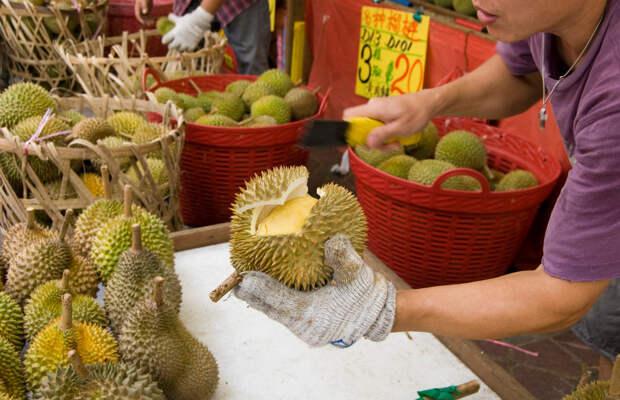 Продавец дуриана вонь, запах, необычная работа, плохо пахнет, профессии