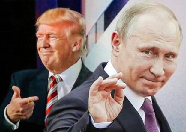Путин и Трамп кричали друг на друга во время встречи в Гамбурге