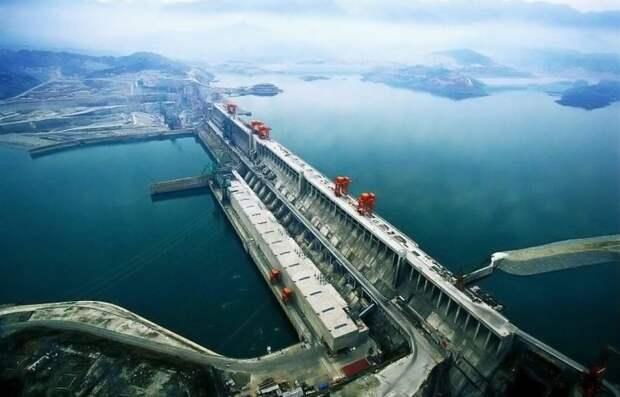 1 место. Три ущелья гидроэлектростанции, сооружения, топ-10
