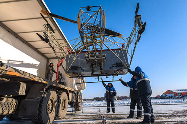 В данном случае перед нами — воздушный трактор. Именно так определил концепцию проекта его идеолог, 26-летний Дмитрий Арсентьев