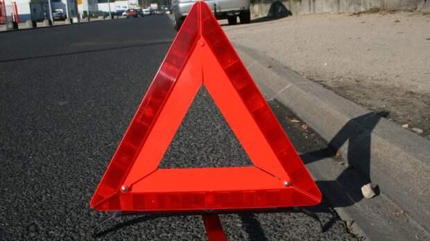Столкновение двух автомобилей на МКАД спровоцировало затор
