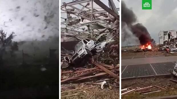 Смертоносный торнадо уничтожил несколько сел в Чехии: видео