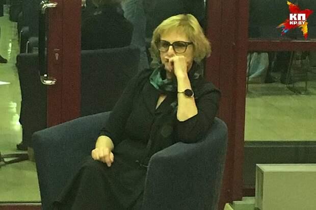 """Литовская писательница Рута Ванагайте, автор книги """"Наши"""". Фото: Надежда БЕЛОХВОСТИК"""