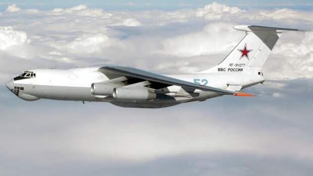 Самолет-заправщик Ил-78М