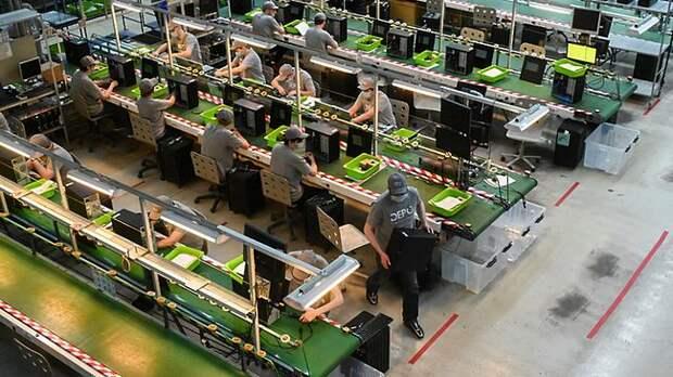 В Московской области запущено производство ЭВМ