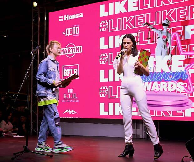 """Церемония награждения премии """"LIKE Influencer Awards"""""""