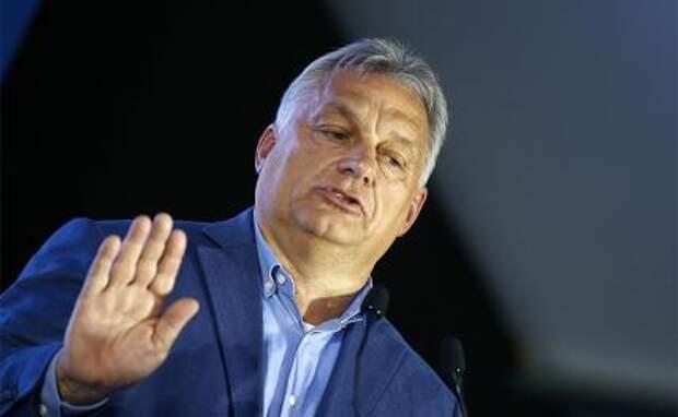 На фото: президент Венгрии Виктор Орбан