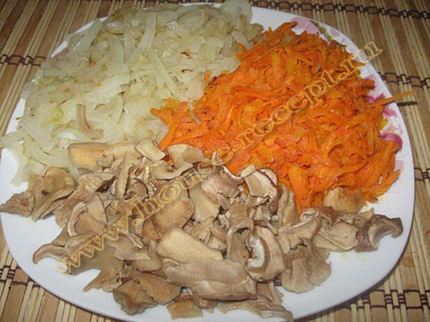 Пассированные (обжаренные) овощи