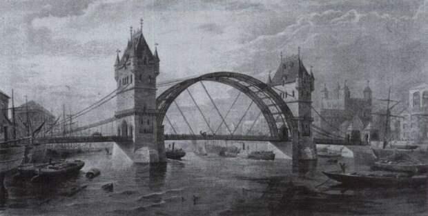 Как строился Тауэрский мост