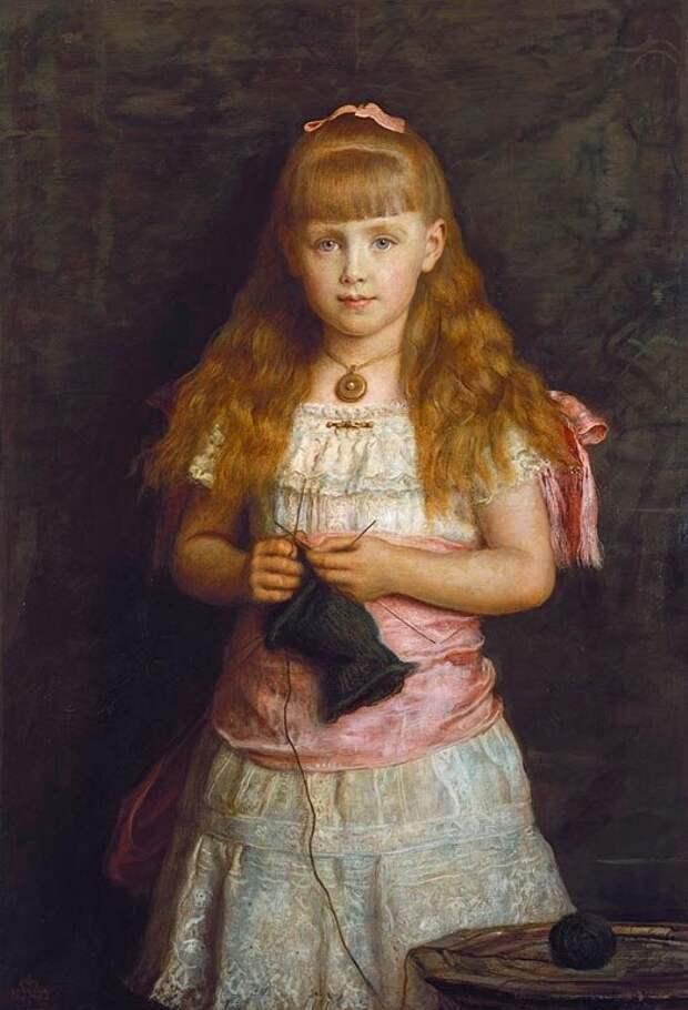 Портрет принцессы Марии Эдинбургской, 1882 год. Источник: яндекс.картинки