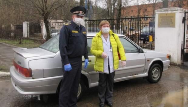 Более 150 выездов врачей обеспечил подмосковный Госадмтехнадзор за неделю