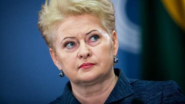 Грибаускайте сменила гнев на милость: Побежит ли Москва радостно навстречу Прибалтике?
