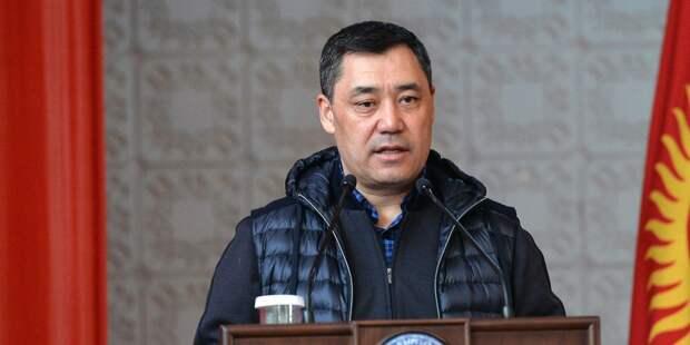 Жапаров рассказал о новой редакции Конституции Киргизии