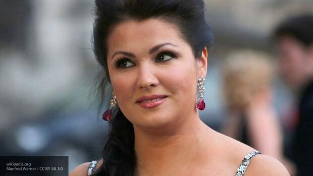 Оперная певица Анна Нетребко госпитализирована с коронавирусом