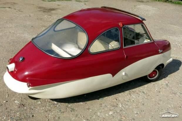 А это вообще автомобиль? Fuldamobil! 60 лет назад он стоил порядка 3100 немецких марок - 7200 евро в наши дни. Сейчас как минимум не дешевле. За что такие деньги? Fuldamobil, авто, автомобили, малолитражка, олдтаймер, ретро авто