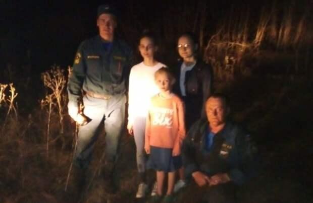 Спасатели МЧС вБеляевском районе разыскали влесу пропавших девочек