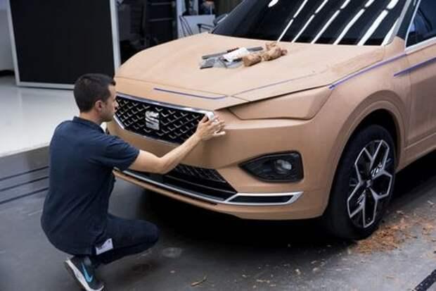 Первый электромобиль Seat покажут в Женеве