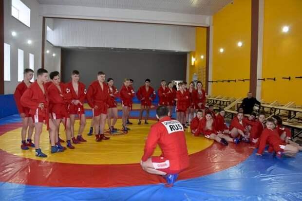 Для 350 юных спортсменов: в Сысерти открылся новый зал для занятий самбо