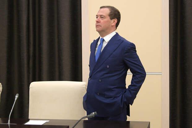Дмитрий Медведев привился от коронавируса