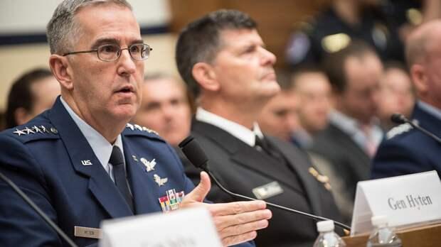 Генерал ВС США Хайтен указал на важность переговоров с Россией и Китаем