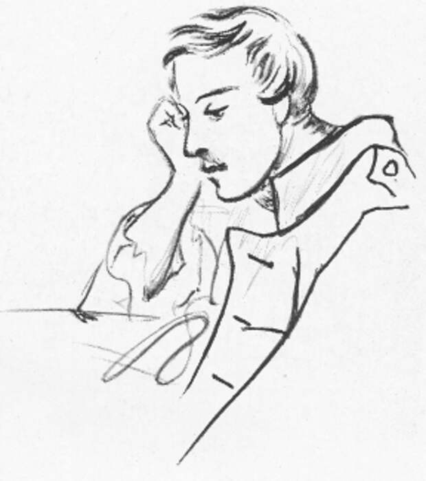 Рисунки и картины  М.Ю. Лермонтова.