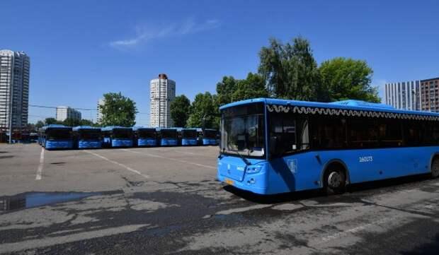 Маршрут автобуса №34 временно изменили из-за работ на Измайловском бульвара