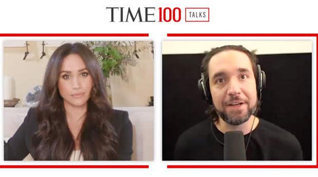 Меган Маркл и принц Гарри выступили на виртуальном саммите TIME100 Talks