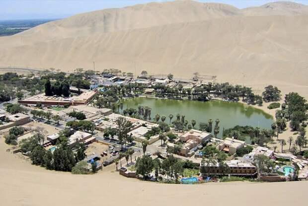 Уакачина, Перу путешествия, факты, фото