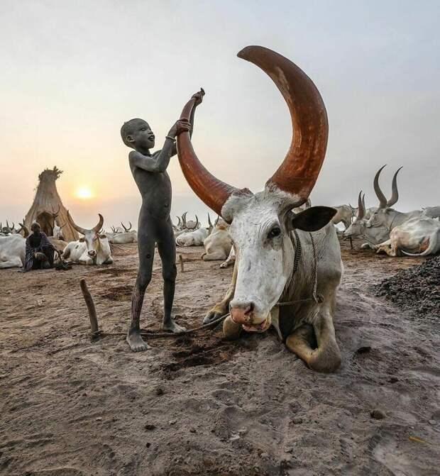 Фотограф показал, как выглядит детство вразных уголках планеты