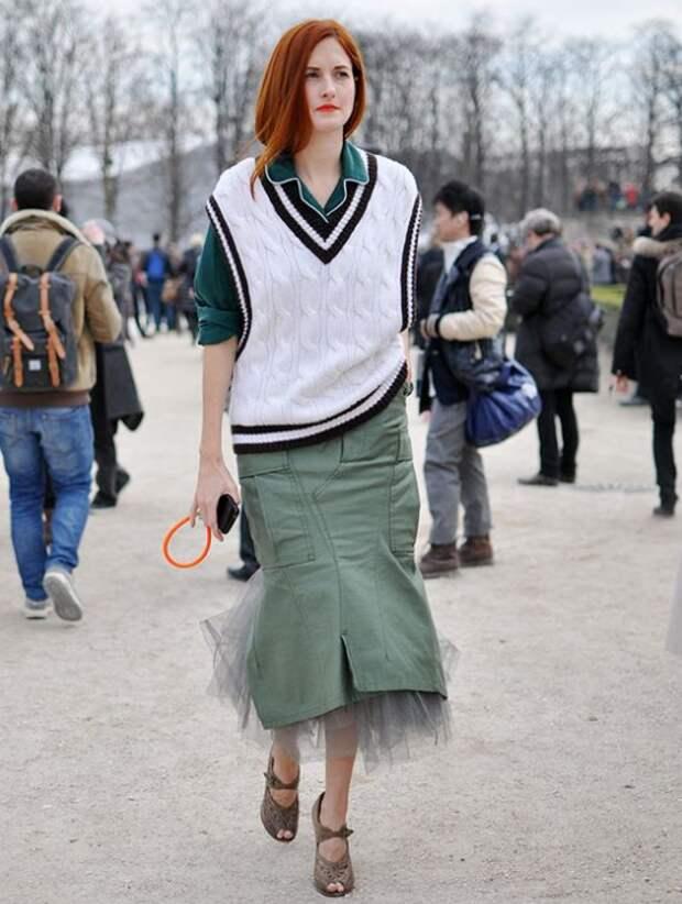 Модный трикотаж в стиле 70-х: как его носить, чтобы выглядеть современно