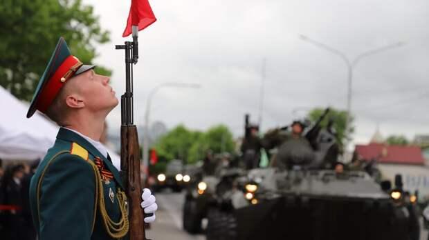 Движение ограничат воВладикавказе из-за репетиции парада Победы