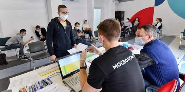 Наталья Сергунина рассказала о развитии добровольческого движения в Москве
