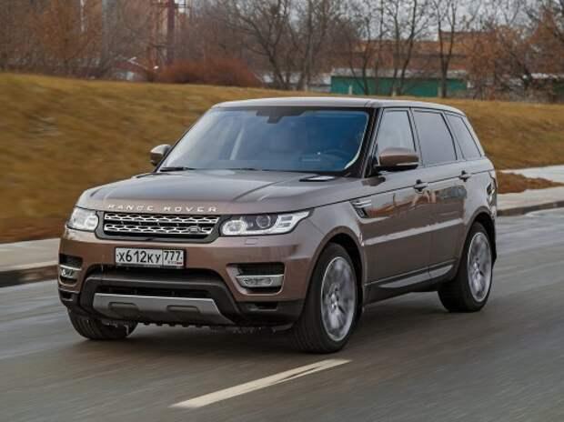 Land Rover Range Rover Sport: авторитетный малый