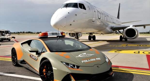 Lamborghini Huracan Evo будет работать на территории аэропорта в Италии