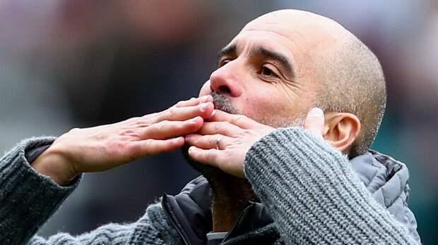 «Манчестер Сити» установил рекорд, выиграв с начала года 10 матчей подряд в АПЛ. Общий счет — 28:3