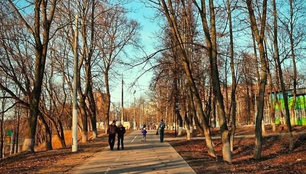 Парк имени Талалихина в Подольске временно закрыли для посещения