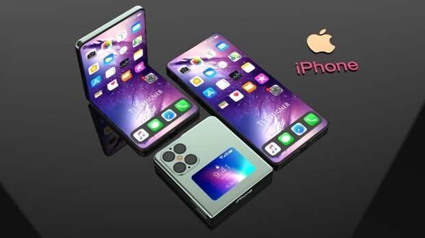 Apple планирует разработать складной iPhone