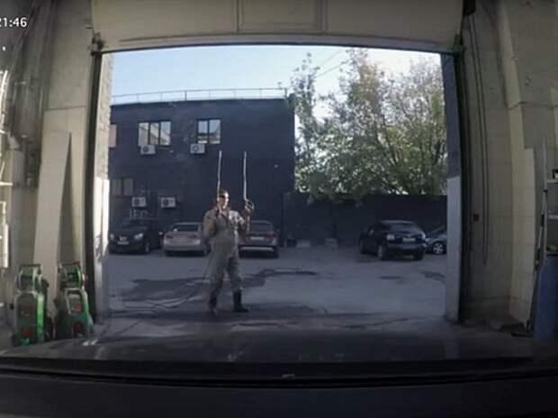 Как развлекаются мойщики автомобилей