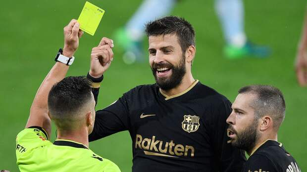 Пике могут наказать за слова о симпатиях испанских судей к «Реалу»