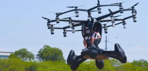 В США испытали летающую машину - от этого зрелища перехватывает дух