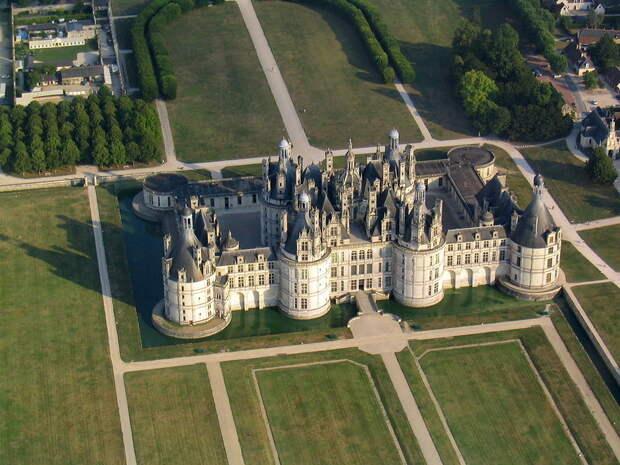 Замок Шамбор. Долина Луары. Франция. Часть 2.